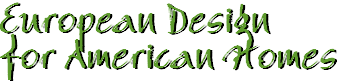 European Design for American Homes